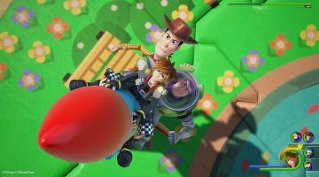 Скриншот Kingdom Hearts 3