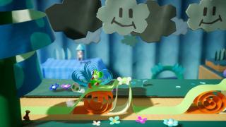 Скриншот Yoshi's Crafted World