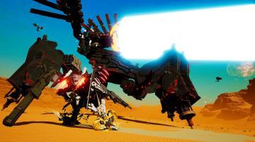 Скриншот Daemon x Machina