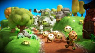 Скриншоты  игры PixelJunk Monsters 2