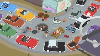 Скриншоты  игры Donut County