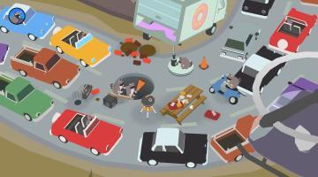 Скриншот Donut County