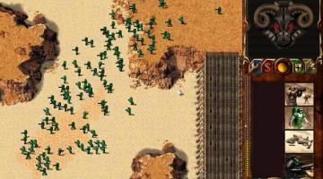 Скриншот Dune 2000: Long Live the Fighters!