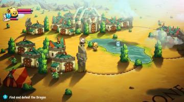 Скриншот Cat Quest 2