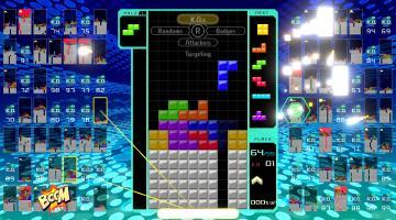 Скриншот Tetris 99