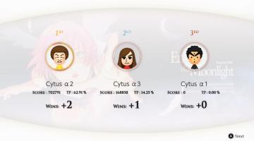 Скриншот Cytus