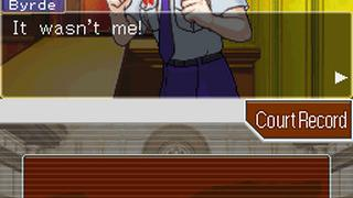 Скриншоты  игры Phoenix Wright: Ace Attorney - Justice for All