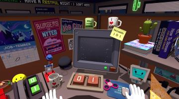 Скриншот Job Simulator