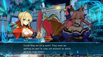 Скриншот Fate/Extella Link