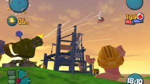 миниатюра скриншота Worms 4: Mayhem