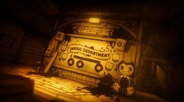 Скриншот Bendy and the Ink Machine