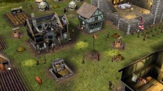 Скриншоты  игры Stronghold 2