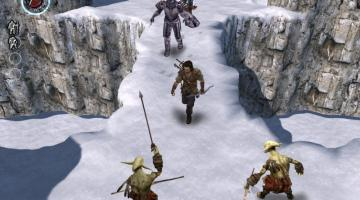 Скриншот The Bard's Tale (2004)