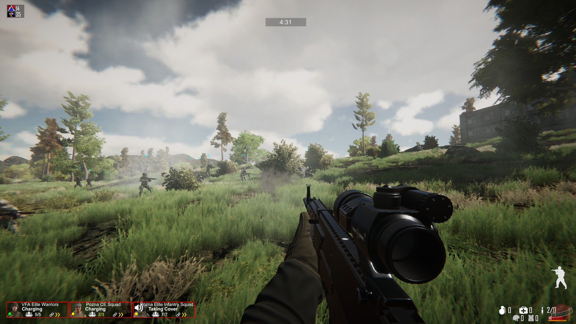 Скриншот к игре Freeman: Guerrilla Warfare (1.32 (34857) (2018) скачать торрент RePack от xatab