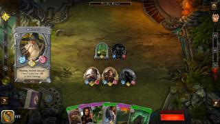 Скриншоты  игры The Lord of the Rings: Adventure Card Game