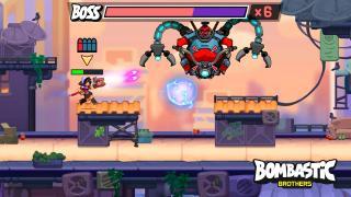 Скриншоты  игры Bombastic Brothers
