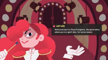 Скриншот Dicey Dungeons