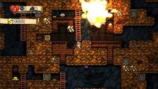 Скриншоты  игры Spelunky