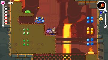Скриншот Shovel Knight Dig