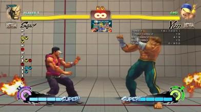 Все комбо Сагата в Street Fighter 4