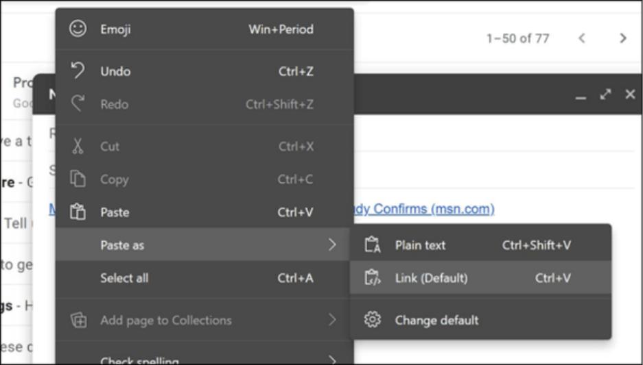 Microsoft упростит обмен web-ссылками в Windows 10