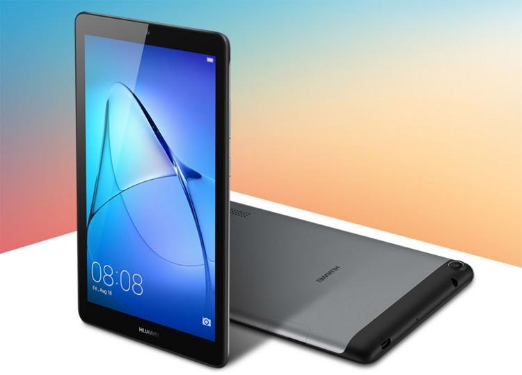 Представлены планшеты Huawei MediaPad T3 сдиагональю экрана 7 и8 дюймов