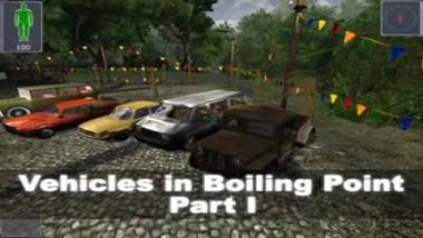 Boiling Point: Road to Hell Vehicles #1