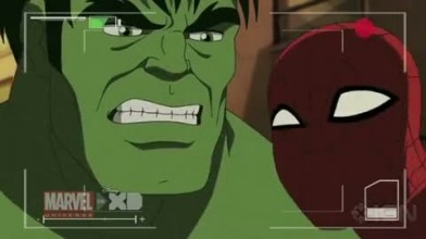 "Ultimate Spider-Man ""Hulk vs. Spider-Man"""