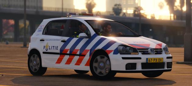 Volkswagen Golf V Police