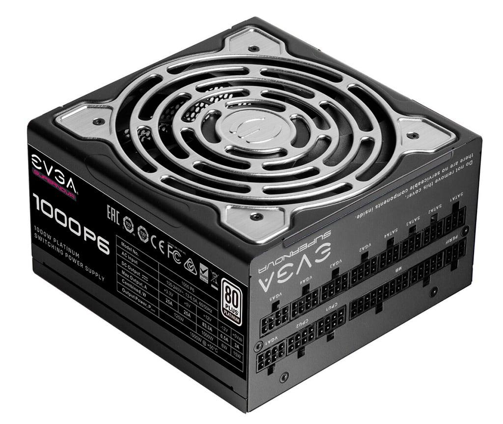 EVGA представила блоки питания Supernova P6