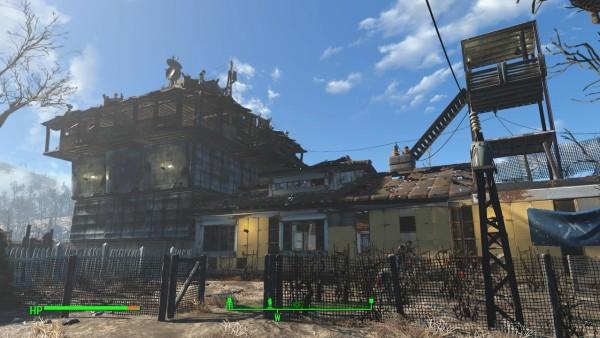 fallout 4 как сделать свет в доме