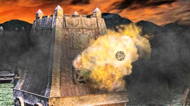 The Last Hope of the Third Age mod - Модернизированное Средиземье: огнемет