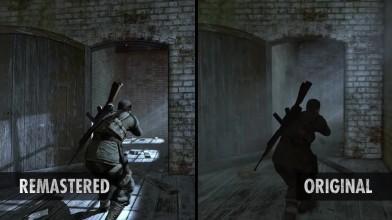 Графическое сравнение Sniper Elite V2 и ремастера