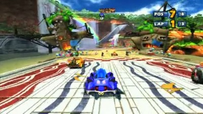 "Sonic & Sega All-Stars Racing ""Sonic Gameplay"""