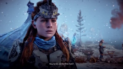 12 минут геймплея из Horizon Zero Dawn: The Frozen Wilds