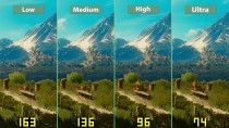 "The Witcher 3 Blood and Wine ""Детальное сравнение на PC Low vs. Medium vs. High vs. Ultra"""