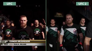 """UFC vs. UFC 2 """"Сравнение (PS4)"""""""