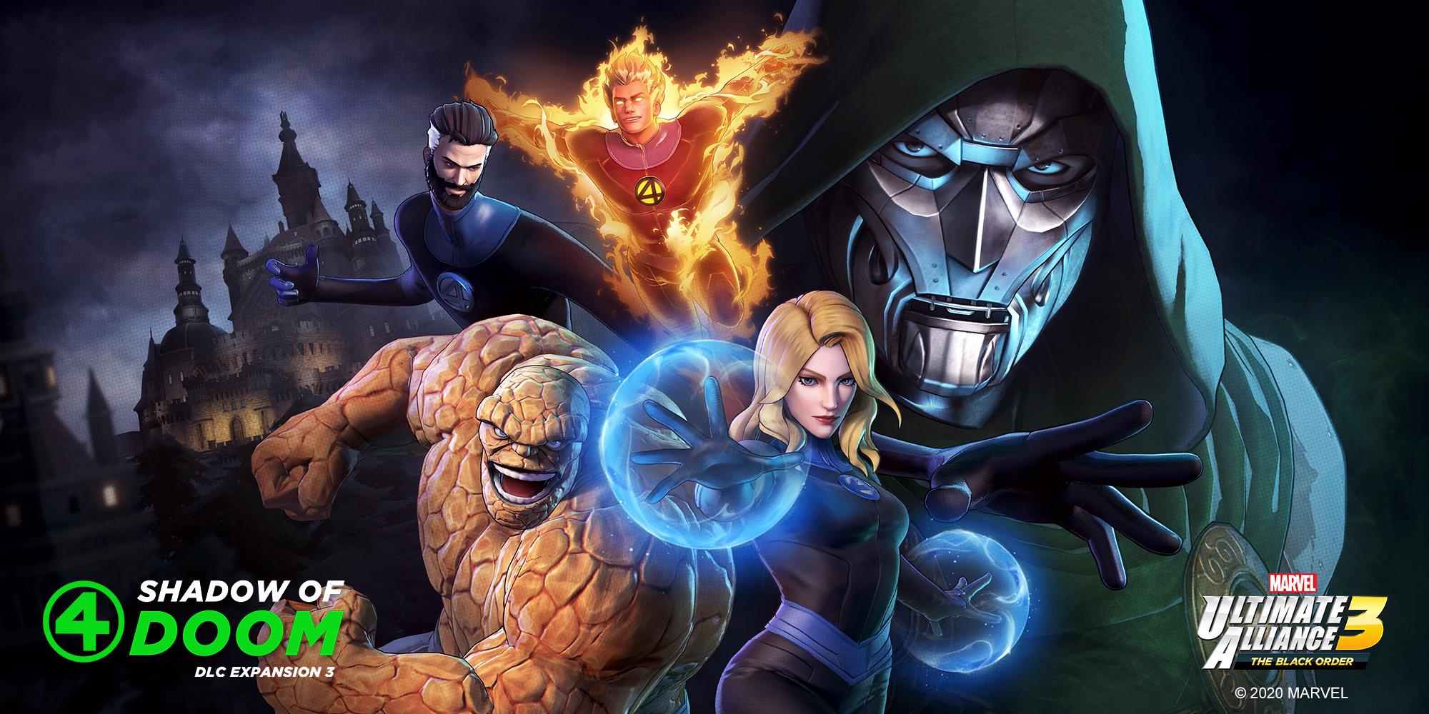Названа дата выхода дополнения Fantastic Four: Shadow of Doom для Marvel Ultimate Alliance 3: The Black Order