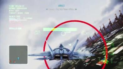 Ace Combat Infinity Mobius 1 против RTDM