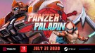 Олдскульный платформер Panzer Paladin выходит 21 июля