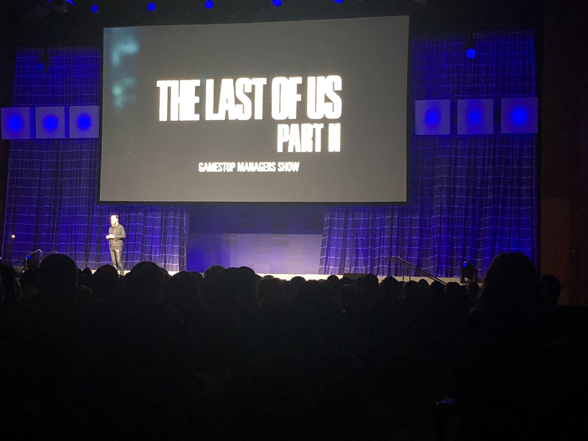 GameStop провел закрытую демонстрацию The Last of Us Part II