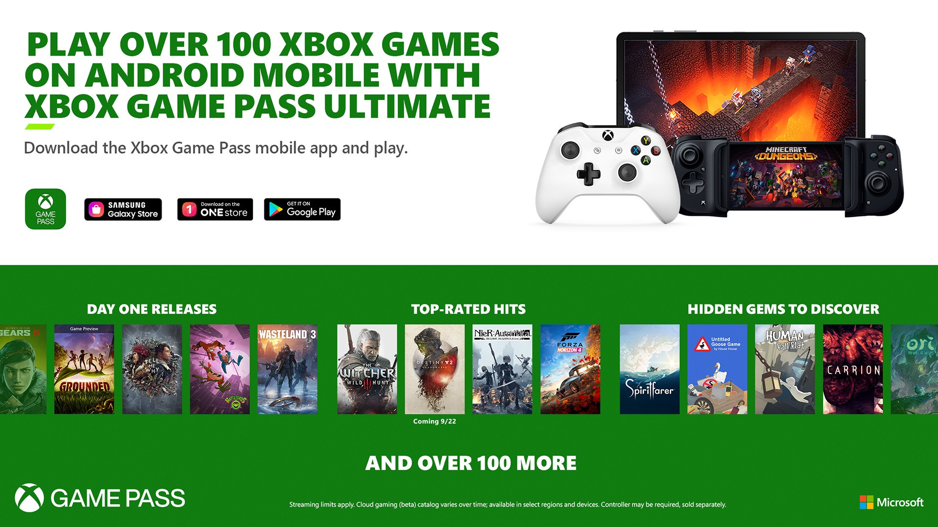 На Android стал доступен сервис Xbox Cloud Gaming