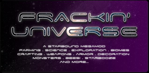 Frackin Universe Скачать Мод img-1