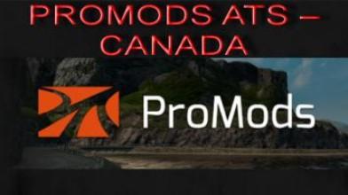 PROMODS ATS - CANADA новый тизер-образ с текущего WIP