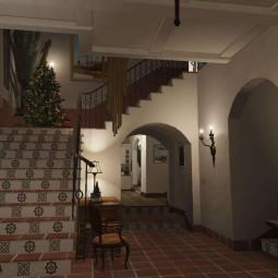 Новогодние украшения для дома Майкла для GTA 5
