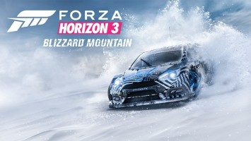 DLC Blizzard Mountain для Forza Horizon 3 выйдет 13 декабря