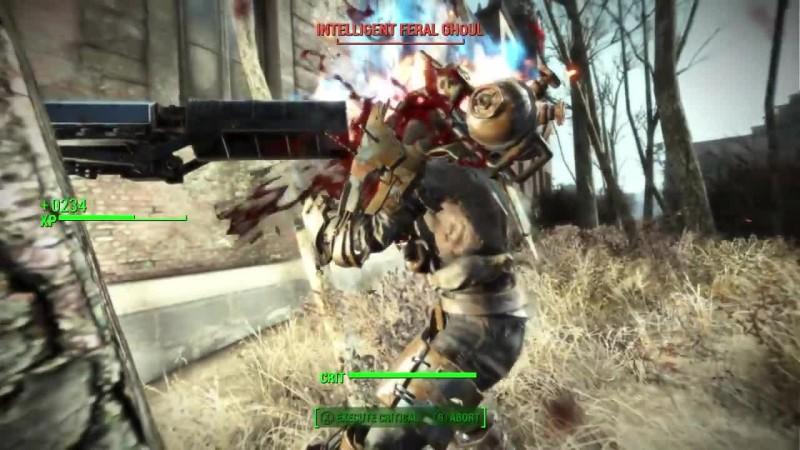 Fallout 4 - Гигантский вурдалак BEHEMOTH BOSS. Mod - X1 PC