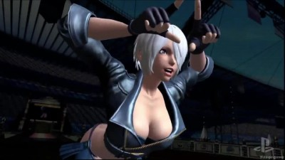 "King of Fighters 14 ""Трейлер с PSX 2015 (PS4)"""