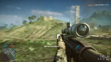 """Battlefield 4 """"Роль снайпера в игре"""""""