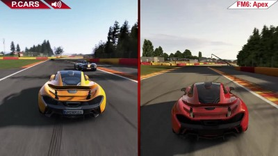 Сравнение | Project CARS vs. Forza Motorsport 6: Apex | На ультра | PC